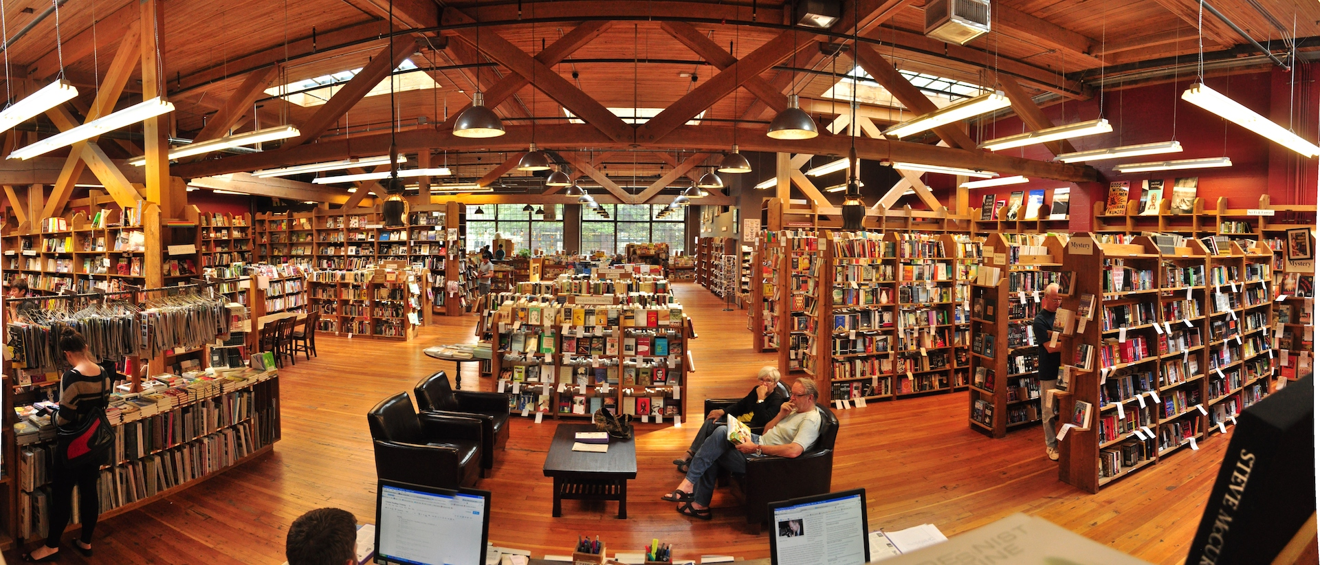 Elliot bay bookstore in Seattle